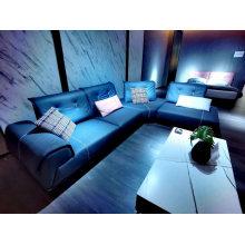 Italy Modern Design Light Luxury Home Furniture Sofa Golden