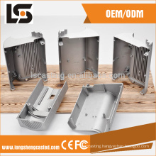 china professional die casting led lighting parts for empty body
