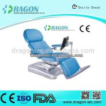 DW-BC005 Fauteuil de don de sang pour hôpitaux électriques de haute qualité