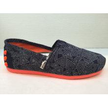 Frauen populäre beiläufige Segeltuch-Schuhe