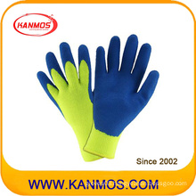 Cut Resistant Knitted Acrylic Latex Coated Industrial Safety Work Glove (52202al)
