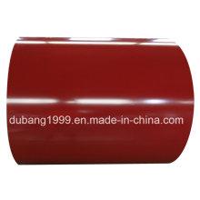 PPGI Color bobina de acero galvanizada prepintada en frío