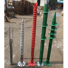 Hot DIP Galvanized Ground Screw, Helical Ground Anchor
