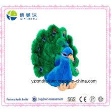 Lifelike Pfau Plüsch Stuffed Tier Spielzeug