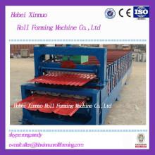 Máquina de fabricación de paneles de pared y techo de hoja