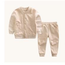 Ensemble de 100% coton bébé en couleurs naturelles pour l'extérieur