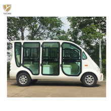 6 Seater Battery Powered Shuttle Tourist Hotel Utility Electric Car