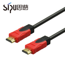 SIPU high speed hdmi cable 2.0 golden plated supports ethernet 3D 4K HDTV