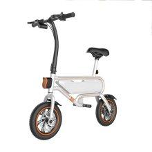 Vélos électriques noirs portables de 12 pouces pour adultes