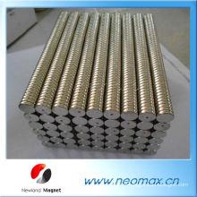 Cylindre à aimants au néodyme personnalisé N42 Grade