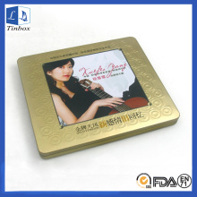 Rectangular Media DVD Estuche de almacenamiento de CD