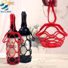Neue Design Kreative Multifunktionale Faltbare Tischset Picknick Wein Silikon Korb