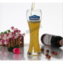 Vidrio de vino de la botella de cristal modificada para requisitos particulares del OEM