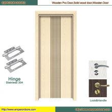 Puerta de madera de vidrio Puerta de madera de China Puerta de madera de melamina