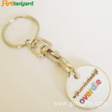 Plastic Trolley Coin Key Holder