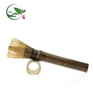 Purple Bamboo Long-Stem Matcha Whisk Chasen (for Matcha or coffee)