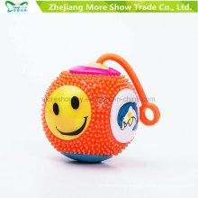 Light-up Flashing Sounding Spiky Puffer Massaging Yo-Yo Ball Toys