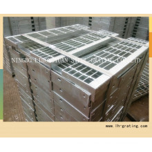 Hot Dipped Galvanizing Steel Stair Tread with Nosing