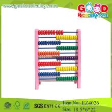 Aprendizaje temprano dibujos animados abalorios juguetes abacus soroban contando marco