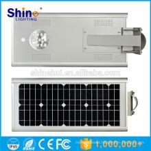 15W luz de rua solar integrada Alumnium