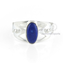 Wholesale Supplier For Lapis Gemstone Ring, 925 Sterling Silver Ring Jewelry