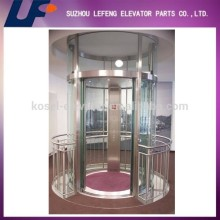 360 Degree Observation Glass Cabin Villa Elevator Cabin