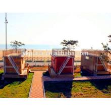 Casa de contentores militar profissional / porta contentores de 40 pés / casa de contentores de 20 pés