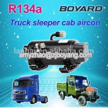 Boyard R134a 12v dc compressor rotativo Auto compressor da c.a. para condicionador de ar do caminhão dorminhoco