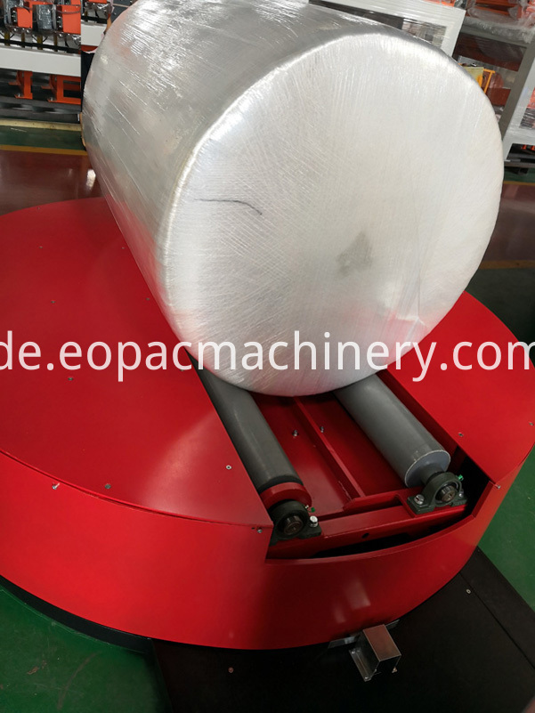 Paper Roll Wrapping Machinery