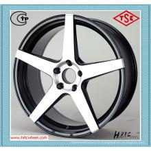 Dernière conception prix concurrentiel durable voiture alliage roues 18 pouces 5X120