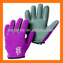 Synthetic Leather Kids Gardening Glove