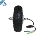 BLDC 10 Inch Brushless Geareless Double/single Shaft Hub Motor for electric bike/scooter
