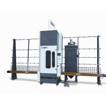 Factory Supply Vertical PLC Control Sandblasting Machine