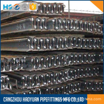 20 Years manufacturer for Crane Steel Train Rails light rail S30 coal mine motor transport 55Q supply to Nicaragua Suppliers