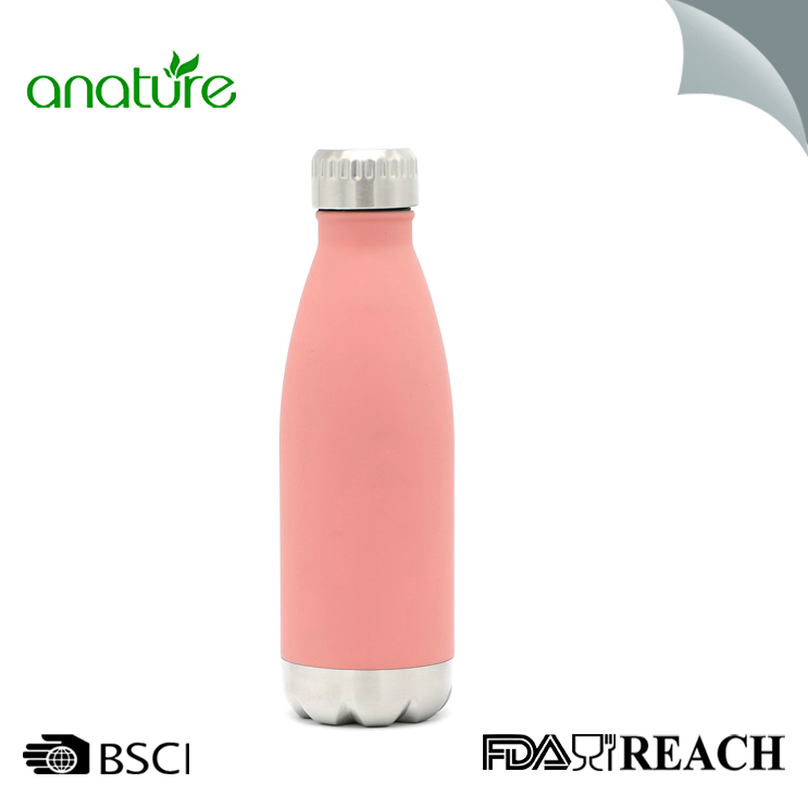 Leak-Proof Cola Shape Travel Sports Water Bottle