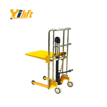 manual type effortless movement polyurethane rollers Platform Stacker