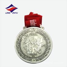 Medalla de recuerdo de metal de la competencia wushu de alta calidad