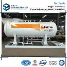 10t LPG Refilling Skid Station with LPG Dispenser, LPG Scale