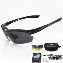 Men′s and Women′s Outdoor Sports Bike Clear Sunglasses Polarized Riding Glasses