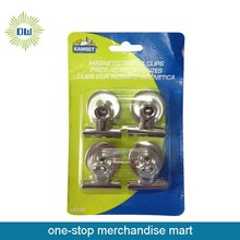 4pcs Magnetic spring clips