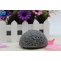 100% natural ativado carvão konjac esponja para cuidados com a pele