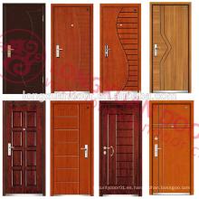 Últimos diseños dispararon los paneles clasificados de la puerta (BS / ULcertification)