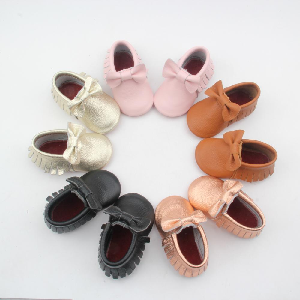 Beauty Baby Girls Red Bottom Leather Boots Shoes