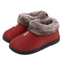 Chaussures épaisses en coton de laine artificielle