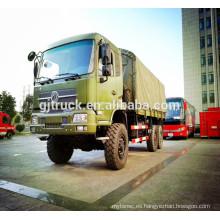 Vehículo militar 6 * 6, camión militar de dongfeng / todos conducen del camión militar del camino / 6X6 del camión del camino / camión de tropa de Dongfeng