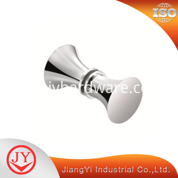 Zinc Chrome Plated Shower Door Knob