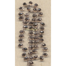 Perles de Quartz fumé de pierres précieuses en vrac