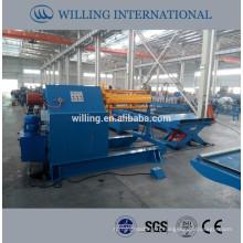 hydraulic decoiler 12T, hydraulic steel coil decoiler 12T