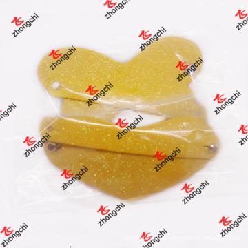Girls′ Hair Accessories Decorative PU Leather Heart Hair Clip (HSH50828)
