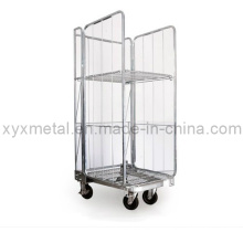 Exported Euro Style Metal Wire Mesh Roll Container
